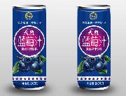 汇之果天然蓝莓汁240ml