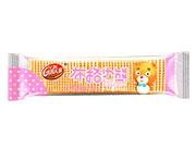 浩客人家布格小熊香草味巧克力威化饼干