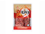 青豪园牛肉干香辣味