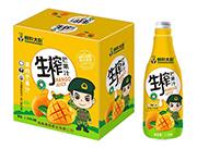 特种大尉生榨果肉芒果汁1.25L×6瓶