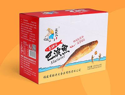 追鱼人香辣味巴浪鱼15g×20包