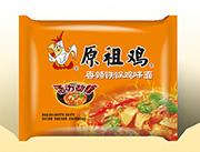 原祖鸡零售1.5元香辣铁锅鸡味面