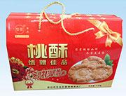 岱宗泰山特产桃酥礼盒