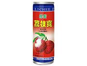 上山果蜂蜜荔枝爽果味饮料240ml罐装