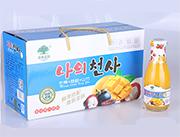 淇果庄园芒果荔枝山竹果汁308ml×10瓶