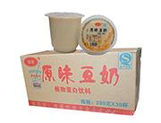 俊龙原味豆奶(杯装早餐粥)280gx30杯