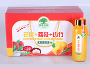 淇果�f�@芒果荔枝山竹果汁�料320ml×10瓶