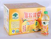 淇果庄园果粒雪梨450ml×15瓶