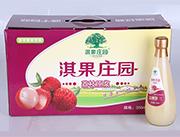 淇果庄园荔枝原浆350ml×10瓶