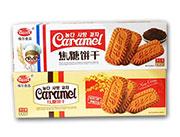 格尔食品焦糖饼干