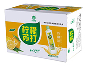 谷尚美柠檬味苏打水饮料400ml×24瓶