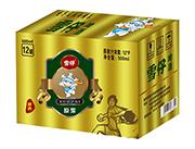 雪仔12度原浆啤酒500ml×12瓶易拉罐外箱