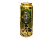 雪仔12度原浆啤酒易拉罐500ml
