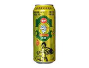 雪仔12度原浆啤酒500ml易拉罐
