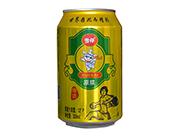 雪仔12度原浆啤酒易拉罐320ml