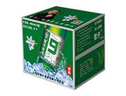 雪仔9度清爽啤酒玻璃瓶480ml×12瓶
