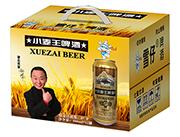 雪仔8度小麦王啤酒500ml×12罐