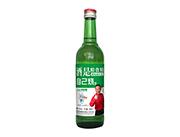 自己烧浓香型粮食白酒500ml绿瓶