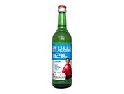 自己烧浓香型粮食白酒500ml蓝瓶