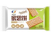 福轩园蜜思饼韧性饼干香葱味散称