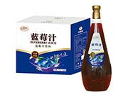 美格丝蓝莓汁饮料1.5L×6瓶