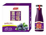 美格丝喜迎蓝莓蓝莓汁饮料1.5L×6瓶
