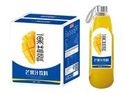 美格丝一果益蔬芒果汁饮料1L×6瓶