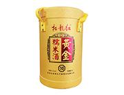 柘龙红糯米黄金酒2.5L