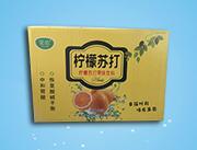 果歌柠檬苏打果味饮料350ml×24瓶