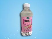 果歌蜜桃苏打果味饮料350ml