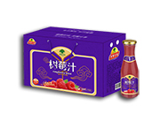 淇果庄园树莓汁308ml×10瓶
