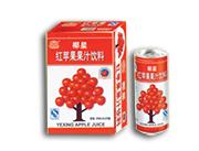 椰星红苹果果汁饮料245ml×24罐
