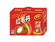 椰星红毛丹果汁饮料
