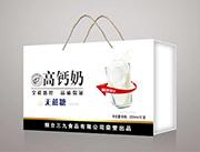 三九高钙奶无蔗糖250ml×12盒