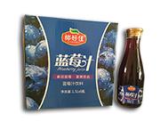 椰好佳蓝莓汁饮料1.5L×6瓶