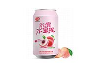 汾滨水蜜桃果汁饮料