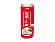 七点半三果山楂复合果汁饮料易拉罐