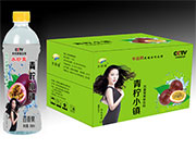 水珍泉青柠小镇百香果果味饮料500ml×15瓶