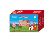 伊乡园红苹果果味饮品250ml×24盒