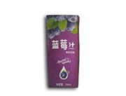 优博蓝莓汁果味饮料246ml