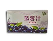 优博蓝莓汁果味饮料箱装