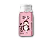 猴小�宀灰谎�的乳酸奶牛奶蓝莓复合果味益生菌酸奶380克
