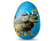铠乐动漫恐龙蛋巧克力豆(蓝色)