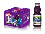 富顺康蓝莓果汁饮料1.5L×6瓶