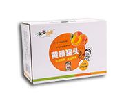 英姿果果黄桃罐头425g×6罐箱装