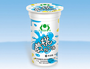 绿健黄桃酸牛奶180g