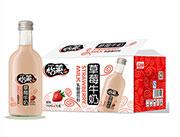 怡莱草莓牛奶乳酸菌饮料330ml×15瓶