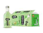 怡�R哈密瓜牛奶乳酸菌�料330ml×15瓶