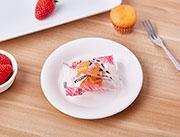 百家赞注心小蛋糕草莓味