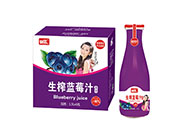 好梦生榨蓝莓汁1.5L×6瓶
